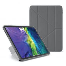 """Pouzdro Pipetto Origami pro iPad Air 4 10.9"""" (2020) - šedé"""