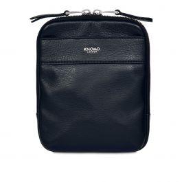 Dámská kožená taška přes rameno Knomo REX - tmavě modrá