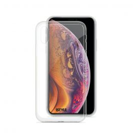 Kryt na iPhone XS Max iSTYLE Hero Case - průhledný