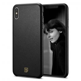 Kryt na iPhone XS Spigen La Manon Câlin - černý