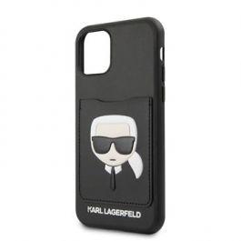 Kryt pro iPhone 11 Pro Karl Lagerfeld CardSlot černý