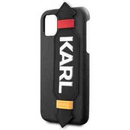 Kryt pro iPhone 11 Pro Max Karl Lagerfeld Strap černý