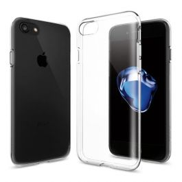 Kryt na iPhone SE (2. gen) Spigen Liquid Crystal - průhledný