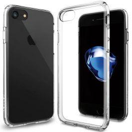 Kryt na iPhone 7 Spigen Ultra Hybrid - průhledný