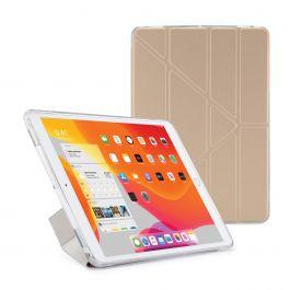 Pouzdro Pipetto na iPad 10.2 (2019) Metallic Origami Case - zlatá