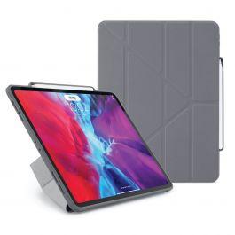 Pouzdro Pipetto iPad Pro 12.9 (2020) s pouzdrem na Apple Pencil - tmavě šedé