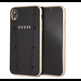 Kryt na iPhone XR Guess Kaia tvrdý kryt černý