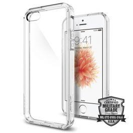 Kryt na iPhone SE / 5s / 5 Spigen Ultra Hybrid - průhledný