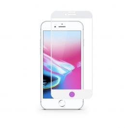 Ochranné sklo iSTYLE 3D+ GLASS iPhone 6 / 6S / 7 / 8 / SE 2 - bílé