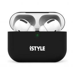 Silikonový kryt na AirPods Pro iSTYLE - černý