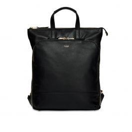 """Dámská kožená taška Knomo HAREWOOD (15"""") - černá"""