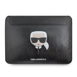 """Kožené Pouzdro Karl Lagerfeld pro MacBook Air/Pro 13"""" - černé"""