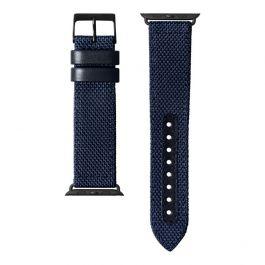 Nylonový řemínek na Apple Watch 42/44 mm LAUT Technical 2.0 - modrý