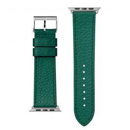 Kožený řemínek na Apple Watch 42/44 mm LAUT Milano - zelený