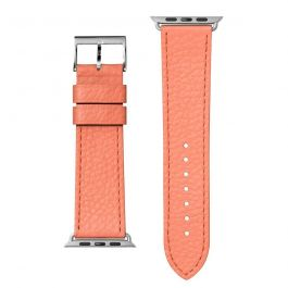 Kožený řemínek na Apple Watch 42/44 mm LAUT Milano - růžový
