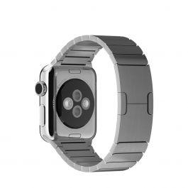 Apple Watch řemínek 38mm článkový tah stříbrný