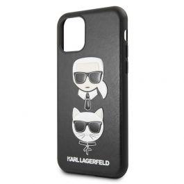 Kryt pro iPhone 11 Pro Karl Lagerfeld & Choupette černý