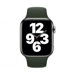 Apple 44mm kypersky zelený sportovní řemínek- standardní
