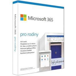 Microsoft 365 pro rodiny P6 Mac/Win (1 Rok, CZ)