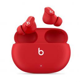 Bezdrátová sluchátka s potlačováním hluku Beats Studio Buds - červená