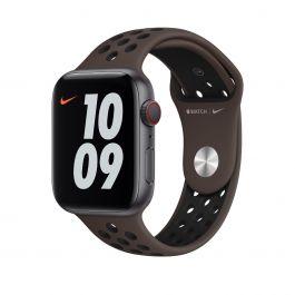 Apple Watch 44mm Nike sportovní řemínek - Ironstone/Black