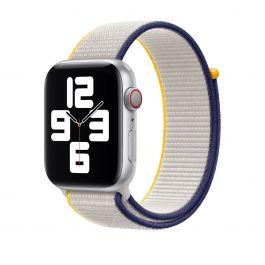 Apple 40mm provlékací sportovní řemínek - solně šedý