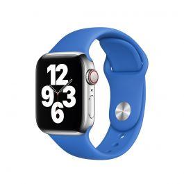 Apple Watch řemínek 44mm sportovní - středomořsky modrý