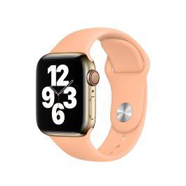Apple Watch řemínek 40mm sportovní - melounově oranžový