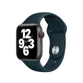 Apple Watch řemínek 40mm sportovní - smrkově zelený