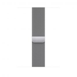 Apple řemínek 45mm Stříbrný milánský tah