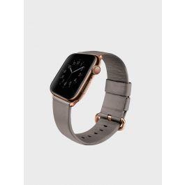 Kožený řemínek pro Apple Watch UNIQ Mondain 40mm - béžový