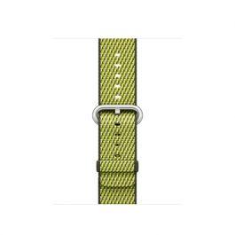 Apple Watch 38mm řemínek: tmavě olivový tkaný nylon