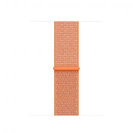 Apple Watch řemínek 38mm provlékací paprikově oranžový