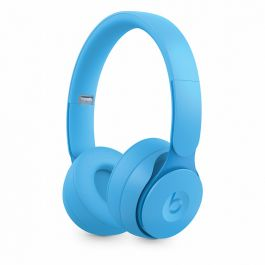 Bezdrátová sluchátka s potlačováním hluku Beats Solo Pro – More Matte Collection – světle modrá
