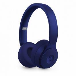 Bezdrátová sluchátka s potlačováním hluku Beats Solo Pro – More Matte Collection – tmavě modrá