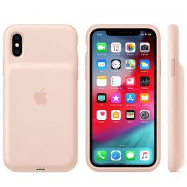 Apple iPhone XS Smart Battery Case - pískově růžový