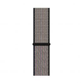 Apple Watch 44mm Nike řemínek:pískově béžový/volt Nike sportovní provlékací