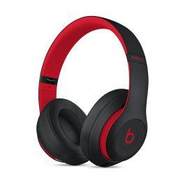 Bezdrátová sluchátka Beats Studio3 přes uši – The Beats Decade kolekce – vyvzdorovaná černo-červená