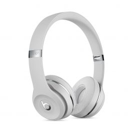 Beats Solo3 Wireless Headphones - saténově stříbrný