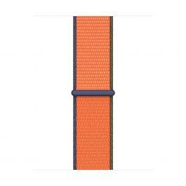 Apple 40mm kumkvatově oranžový provlékací sportovní řemínek
