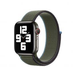 Apple 44mm snově zelený provlékací sportovní řemínek