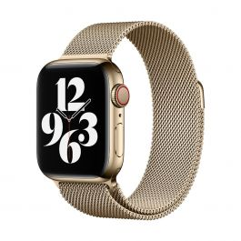 Apple 40mm zlatý milánský tah