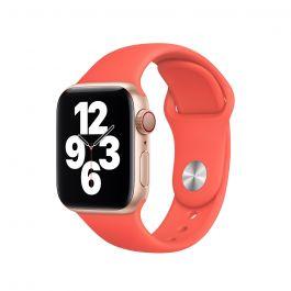Apple 40mm citrusově růžový sportovní řemínek- standardní