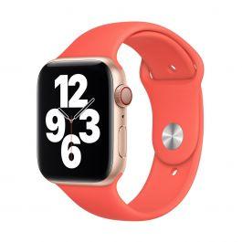 Apple 44mm citrusově růžový sportovní řemínek- standardní