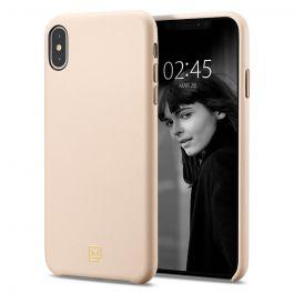 Kryt na iPhone XS Spigen La Manon Câlin - růžový