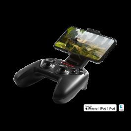 Herní ovladač SteelSeries Nimbus+ Wireless G s držákem pro telefon