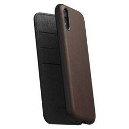 Obal na iPhone XR Nomad Folio - hnědý