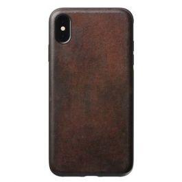 Kryt na iPhone Xs Max Nomad Rugged Case - hnědý