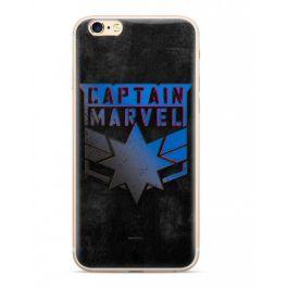 MARVEL obal na iPhone XS Captain Marvel černý