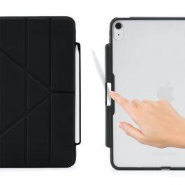 "Pouzdro Pipetto Origami pro iPad Air 4 10.9"" (2020) s prostorem na Apple Pencil - černé"